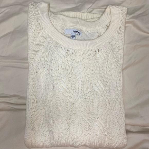 Sonoma medium Cream colored sweater